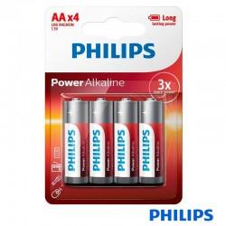 Pila AA LR6 Philips (Pack 4...