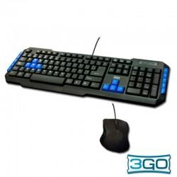 Teclado USB PC Kit 3GO...