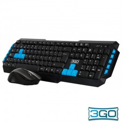 Teclado USB PC Kit 3GO...