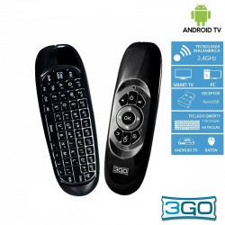 Teclado Wireless Air Mouse 3GO